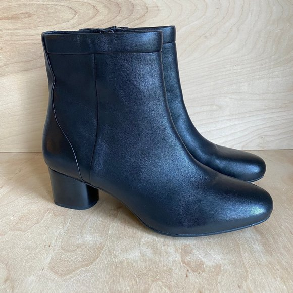 Clarks Unstructured Un Cosmo Up Black
